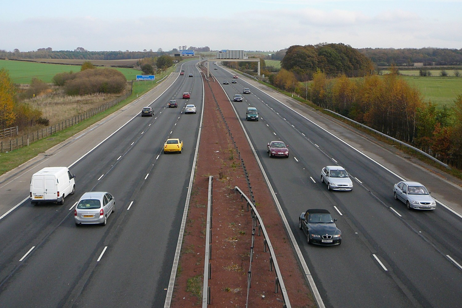 Man jailed for bringing a motorway to a standstill for 28 hours