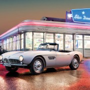 Elvis Preley's BMW 507