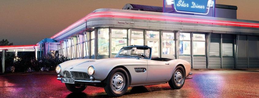 Elvis Preley's BMW 507