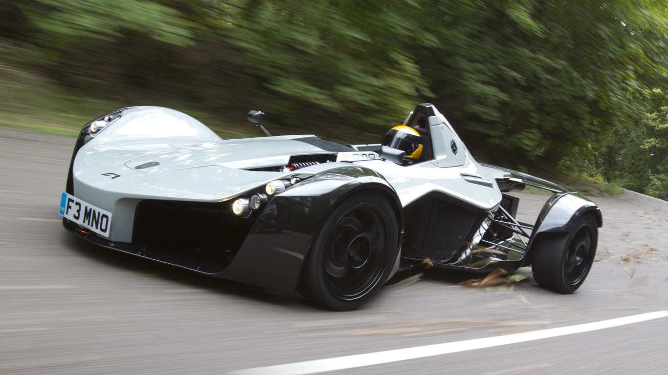 BAC Mono - 2.8 seconds