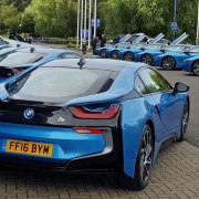 Leicester City owners treat players to fleet of BMW i8s