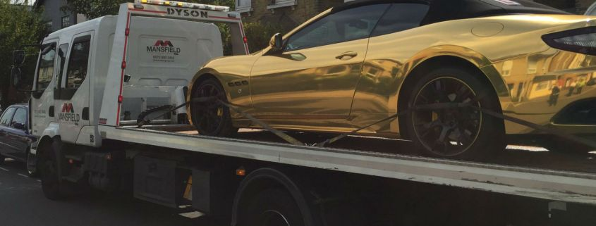 Teenage owner of seized gold Maserati: 'I'll use my Roller instead'