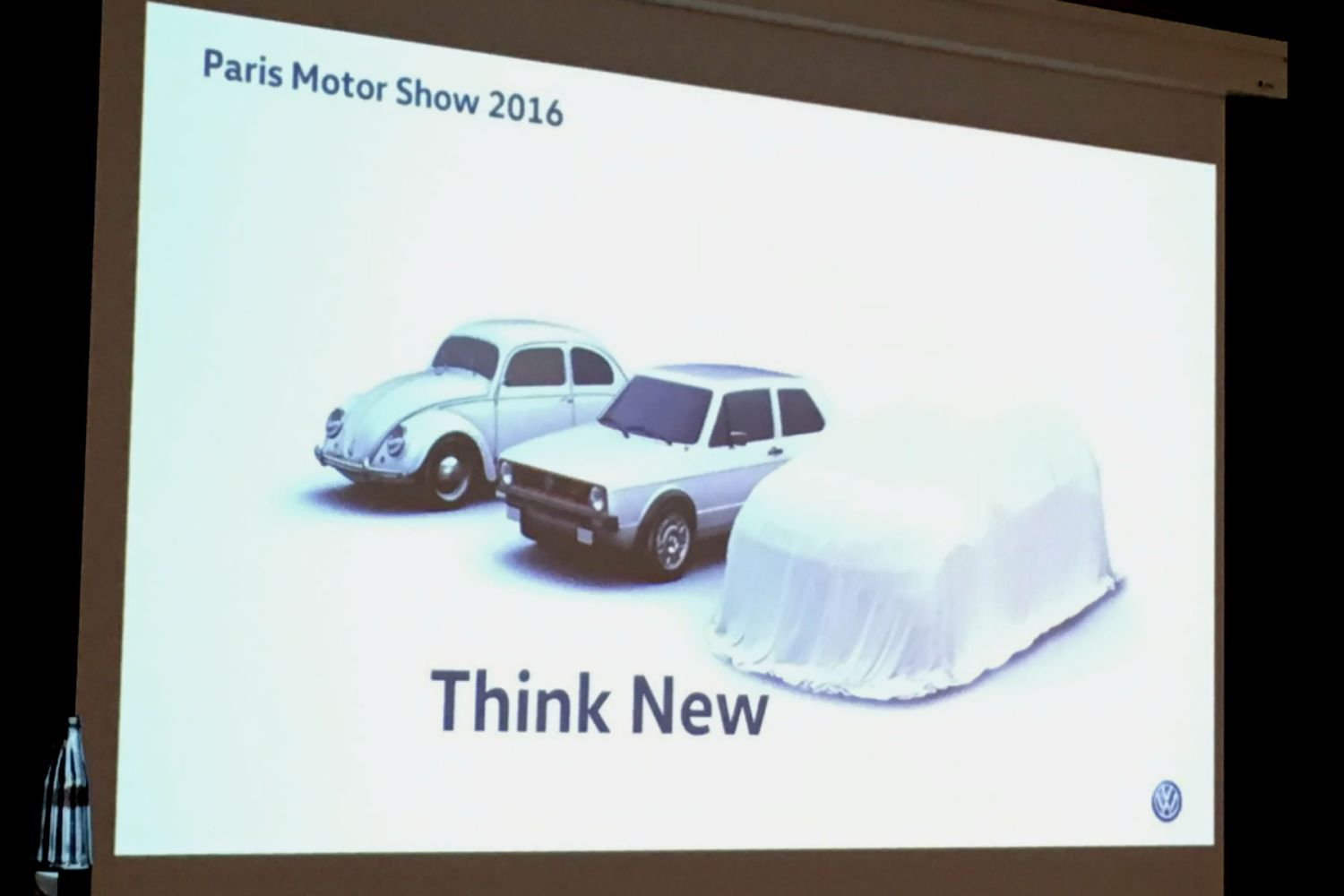 Volkswagen urges customers to 'think new' with its Paris Motor Show concept