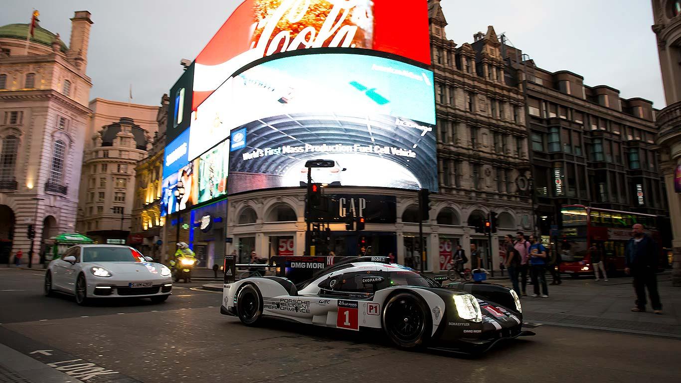 Porsche 919 Hybrid in London