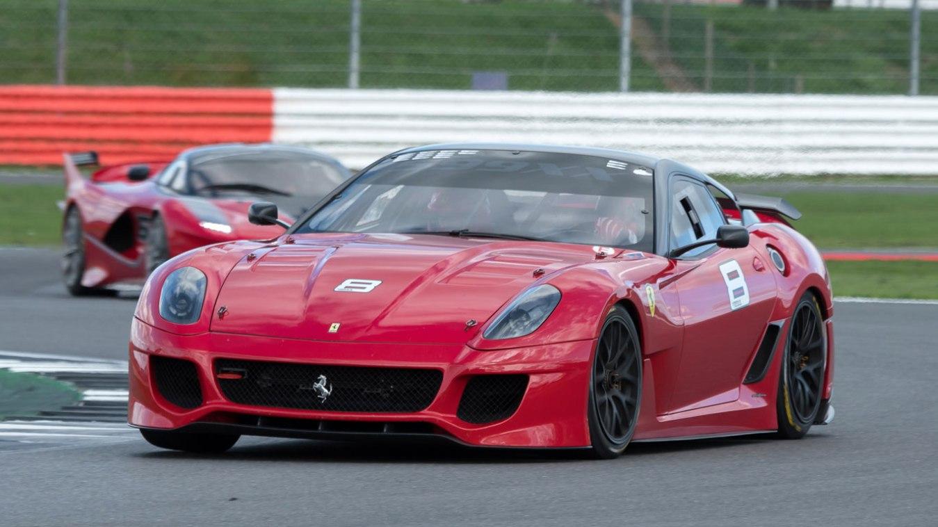 Ferrari delivers sunshine and smiles at Silverstone