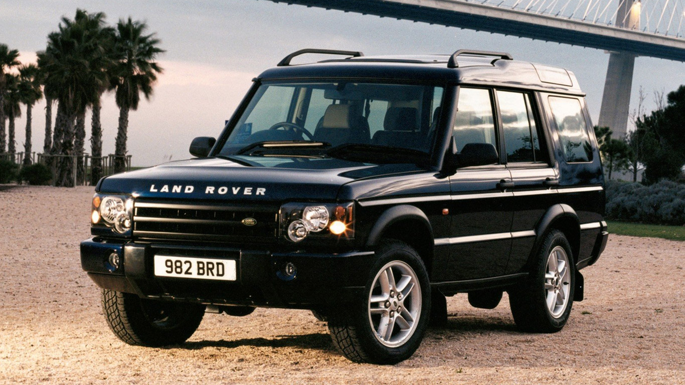 Land Rover Discovery 2: facelift