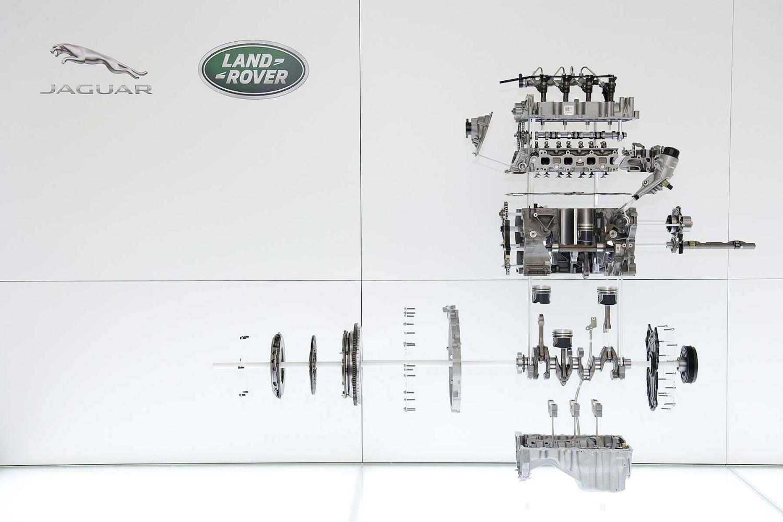 JLR Ingenium engine