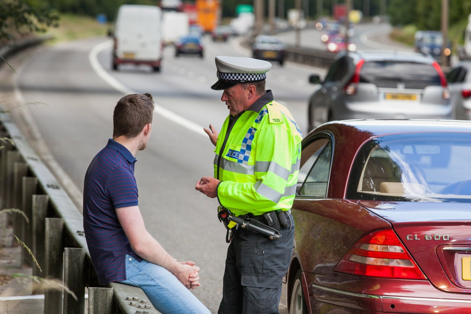 135 drivers hit with lane hogging fines since 2013