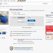Donald Trump's Lamborghini Diablo VT is for sale on eBay