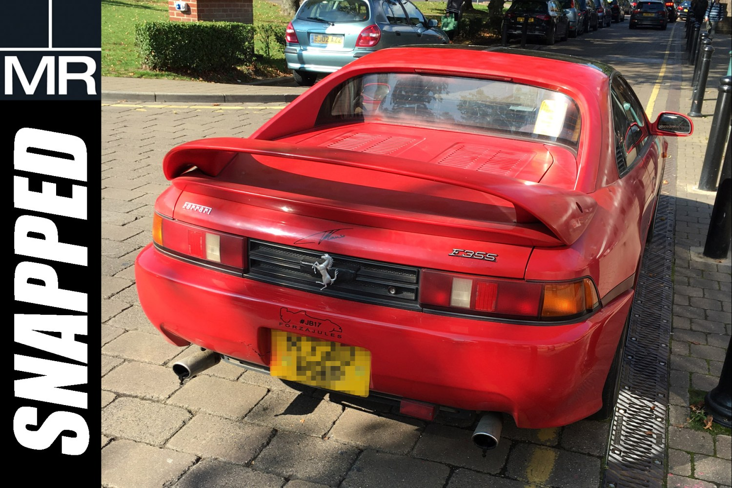 Snapped: this Toyota MR2 thinks it's a Ferrari