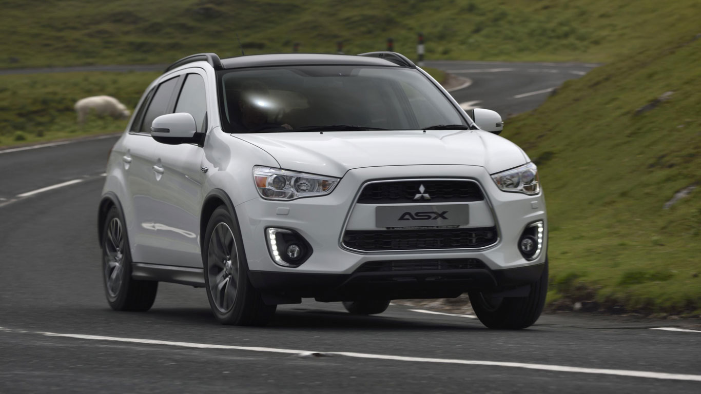 15. Mitsubishi ASX: 1,742 registrations