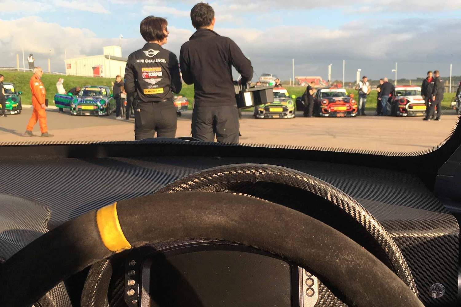 Motoring Research races a MINI Challenge racer