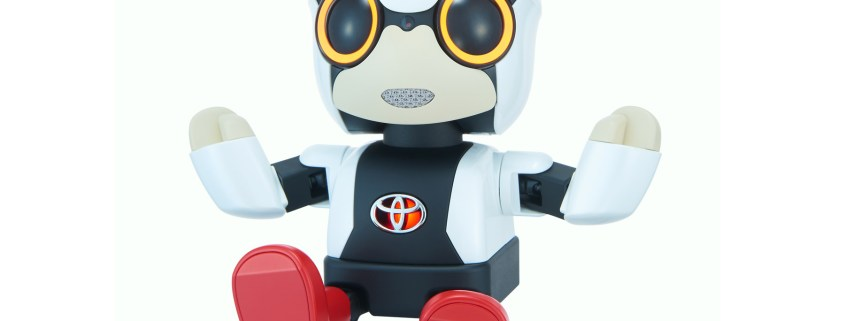 Watch: Toyota's made a tiny robot to prevent you getting lonely