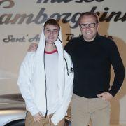 Justin Bieber has met Lamborghini's CEO and driven an Aventador Roadster