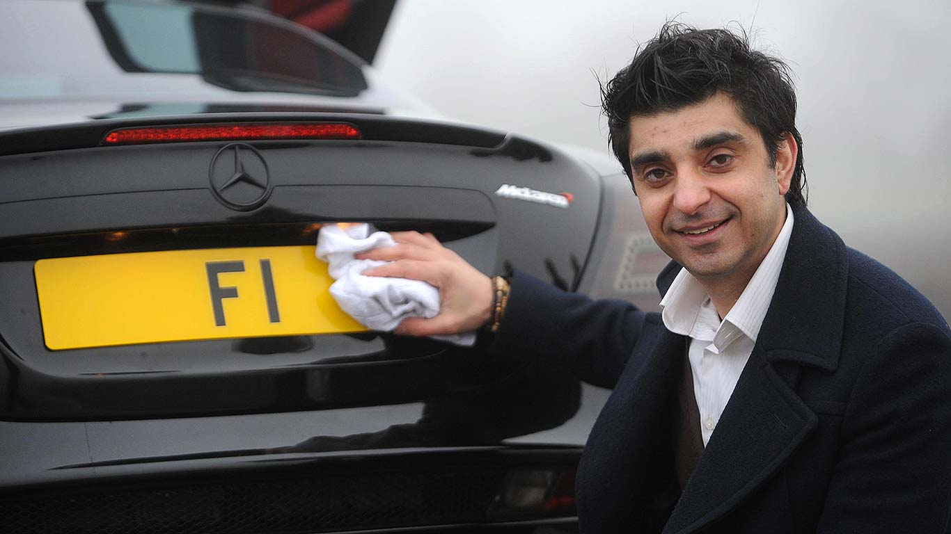 Revealed: the UK's most expensive car number plates