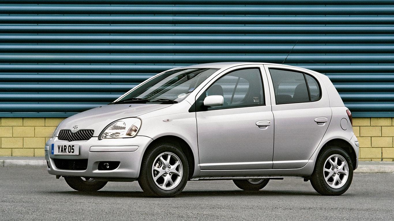 16. Toyota Yaris (2003-2005)