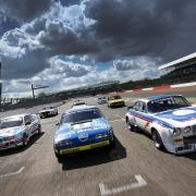 Silverstone classic racers