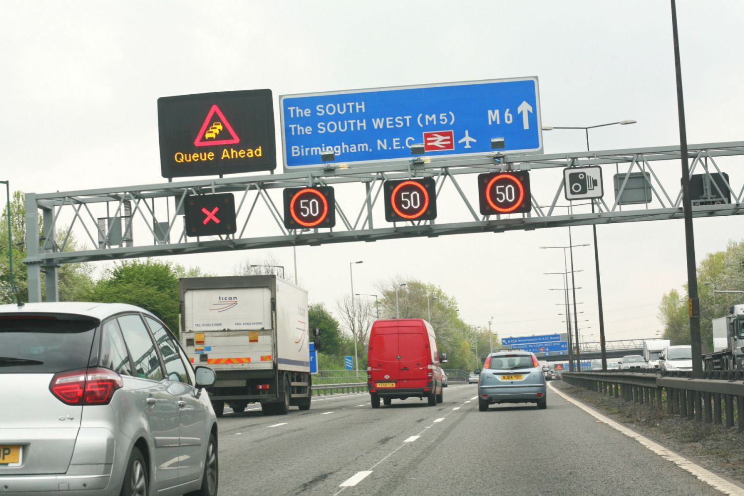More than 50,000 motorists a year hit with fines on smart motorways