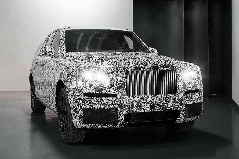 Rolls-Royce teases 2018 'Project Cullinan' SUV