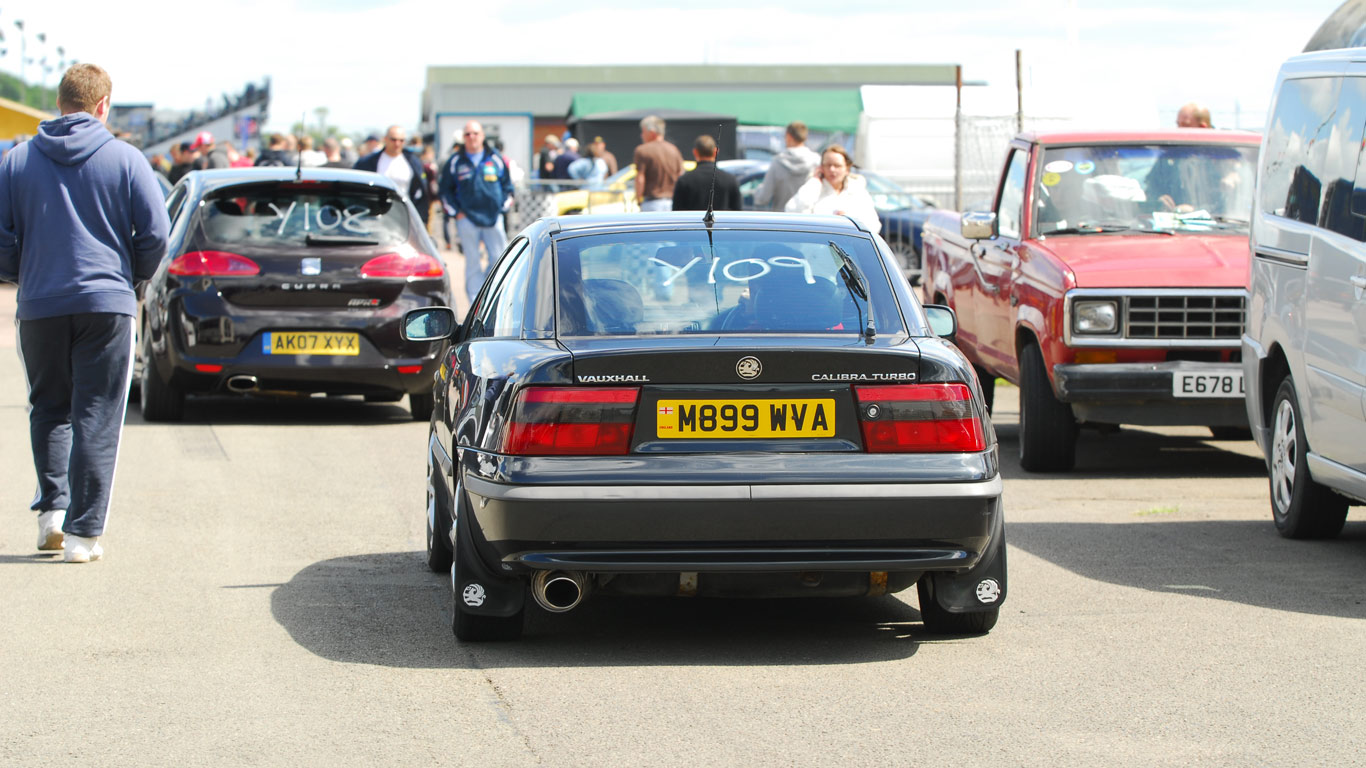 The Fast Show, Santa Pod (2 April)