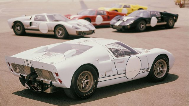 Racing in the blood: the story of the Ford GT40