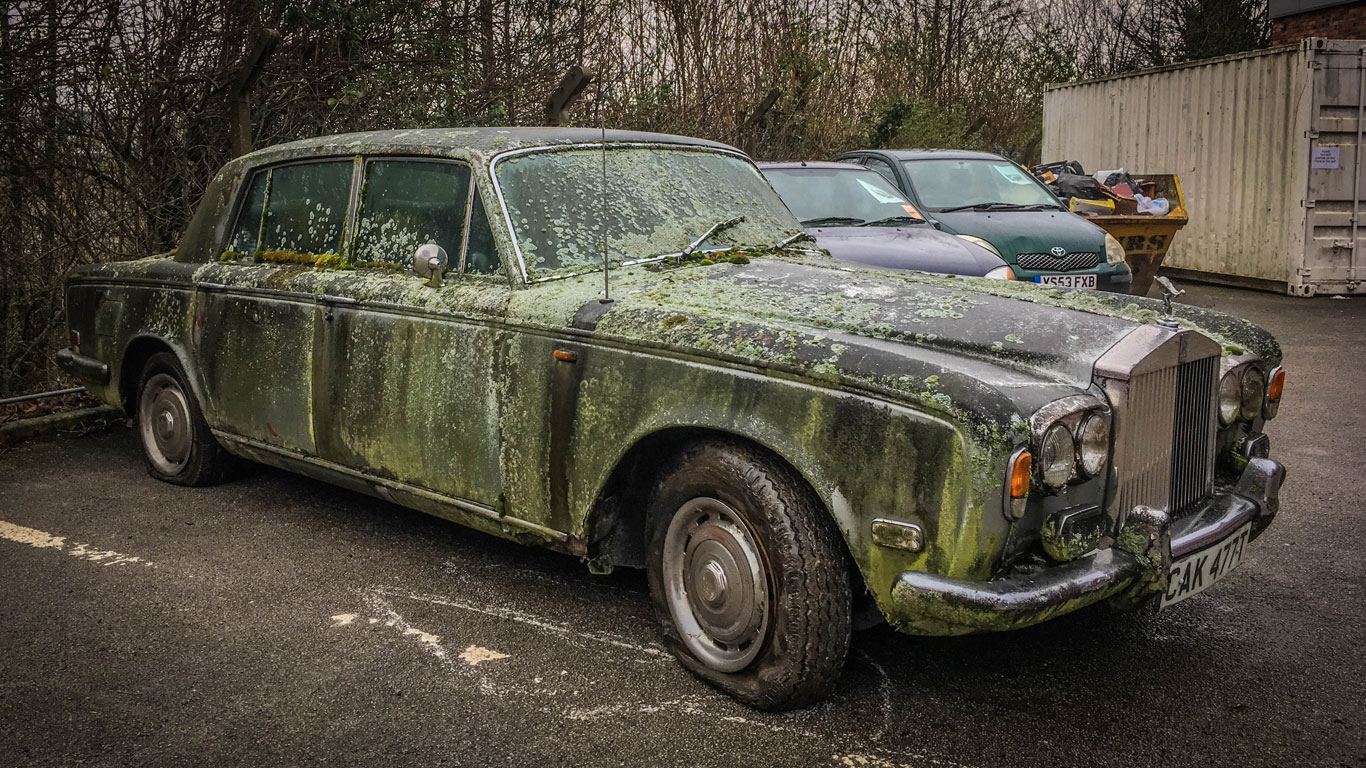 Barn-find cars on show in Birmingham