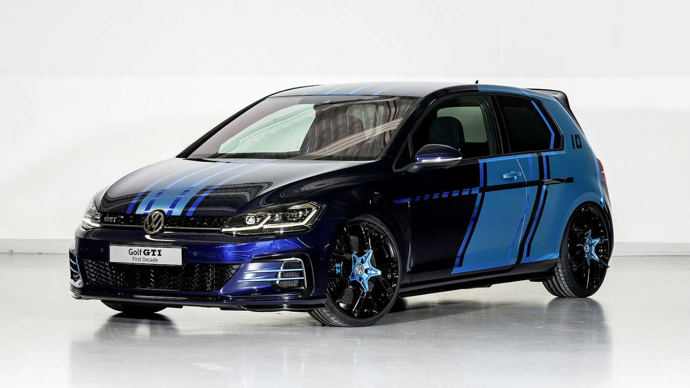 Volkswagen hits Lake Worthersee with hybrid Golf GTI