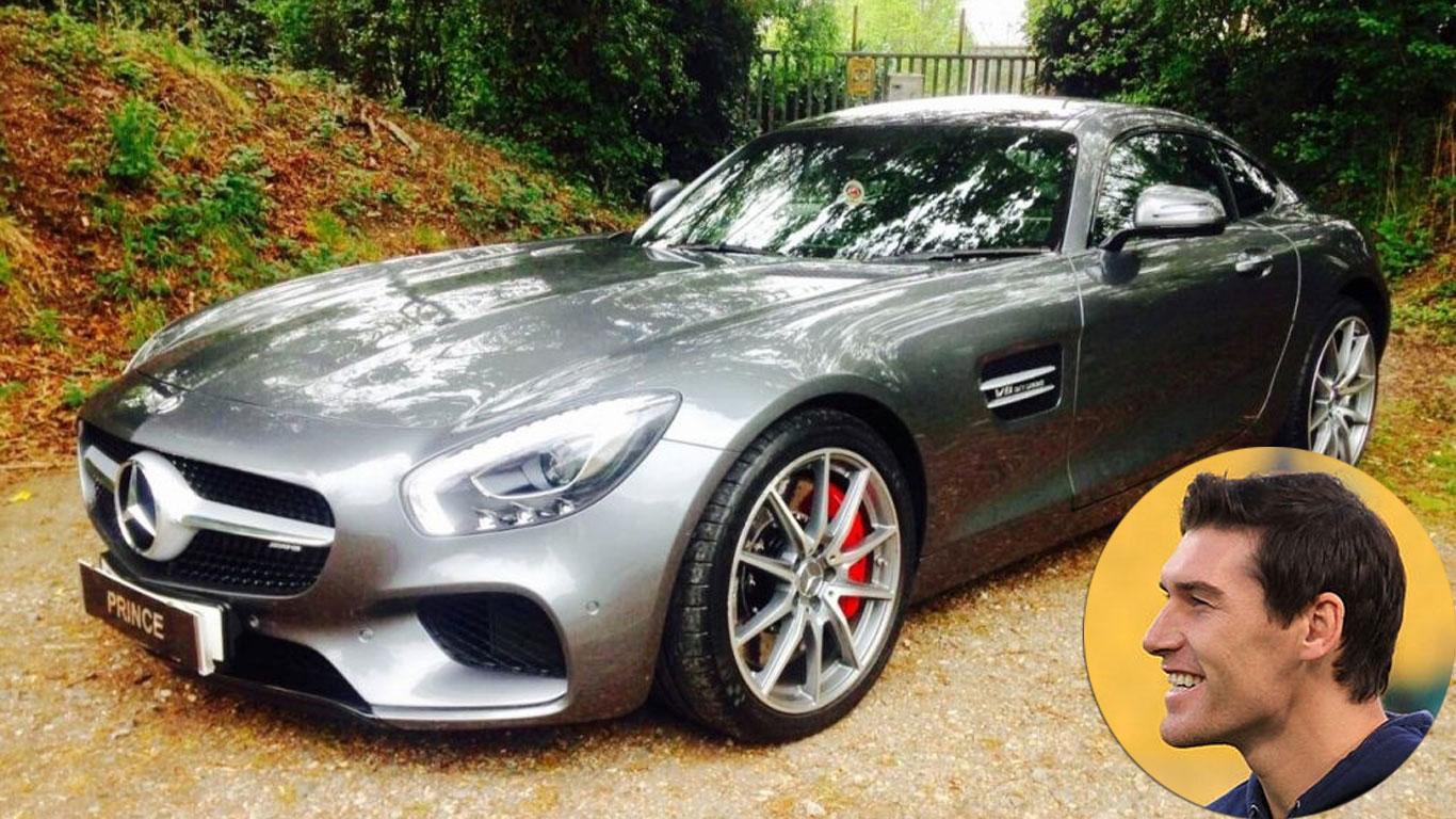 Gareth Barry: Mercedes-AMG GT S
