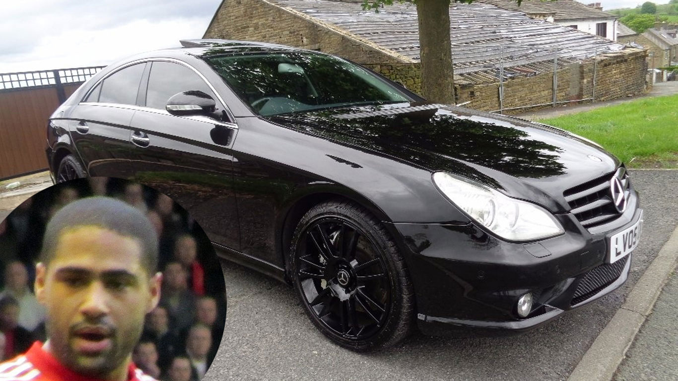 Glen Johnson: Mercedes-Benz CLS55 AMG