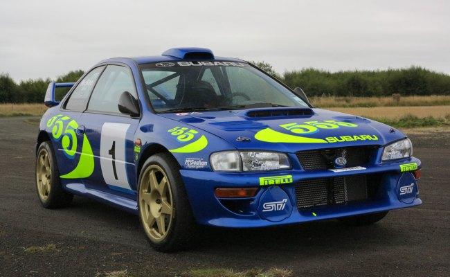 Colin Mcrae S Iconic Wrc Subaru For Sale Motoring Research