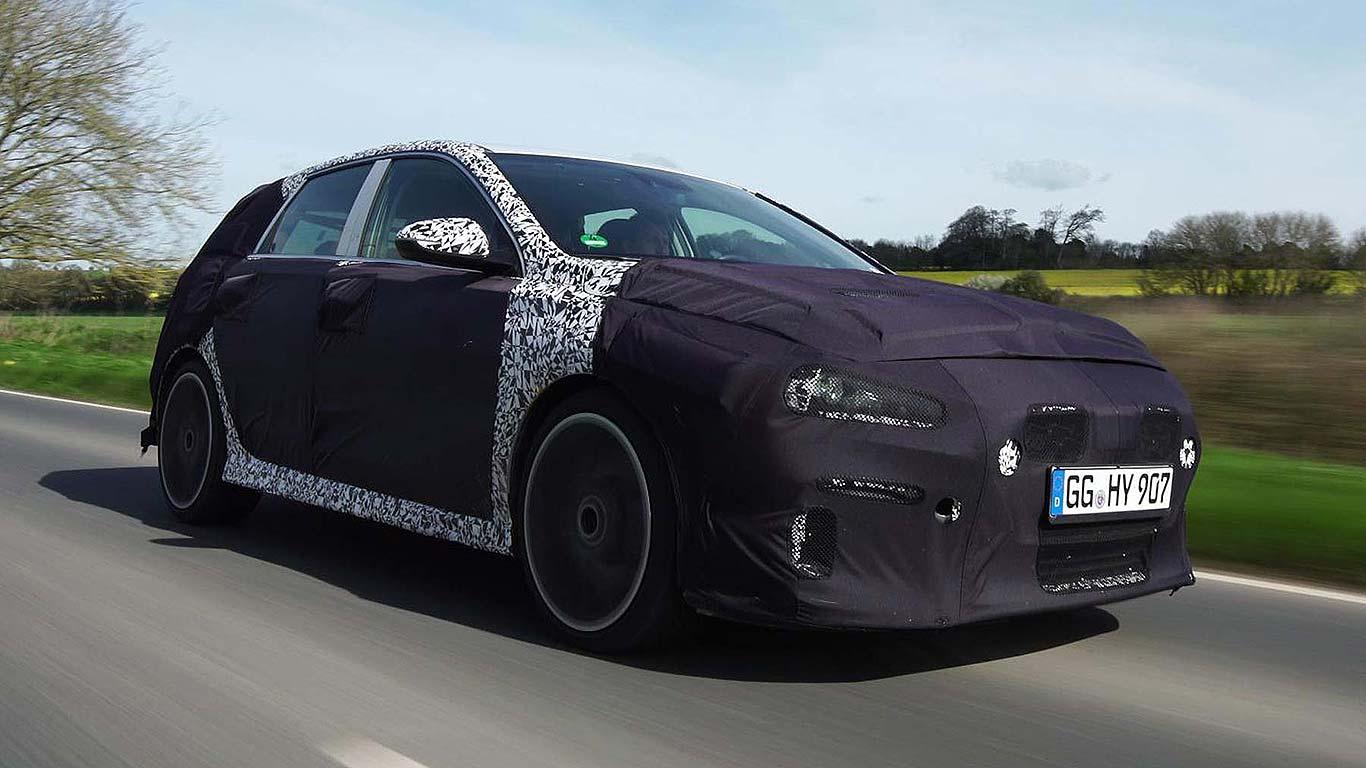 Hyundai i30 N UK testing 2017