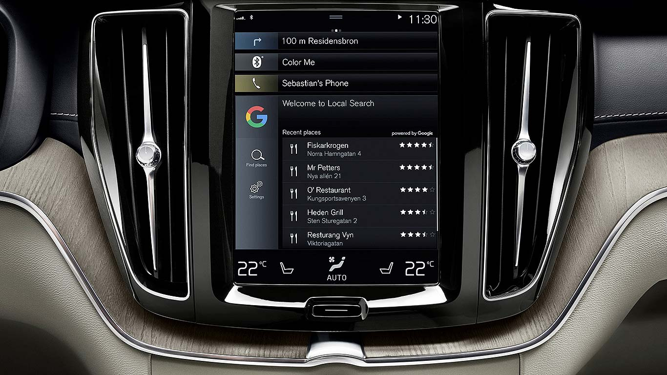 Volvo and Google Android