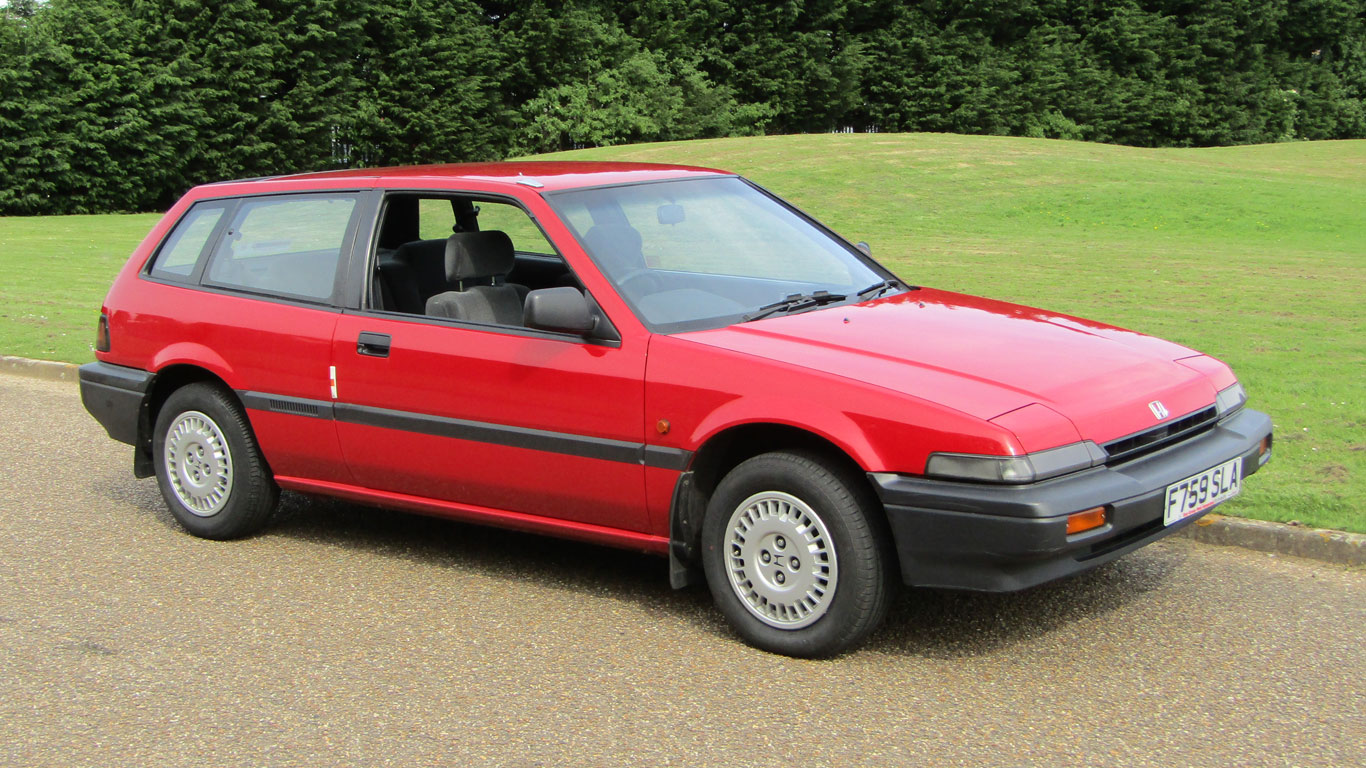 1989 Honda Accord Aerodeck
