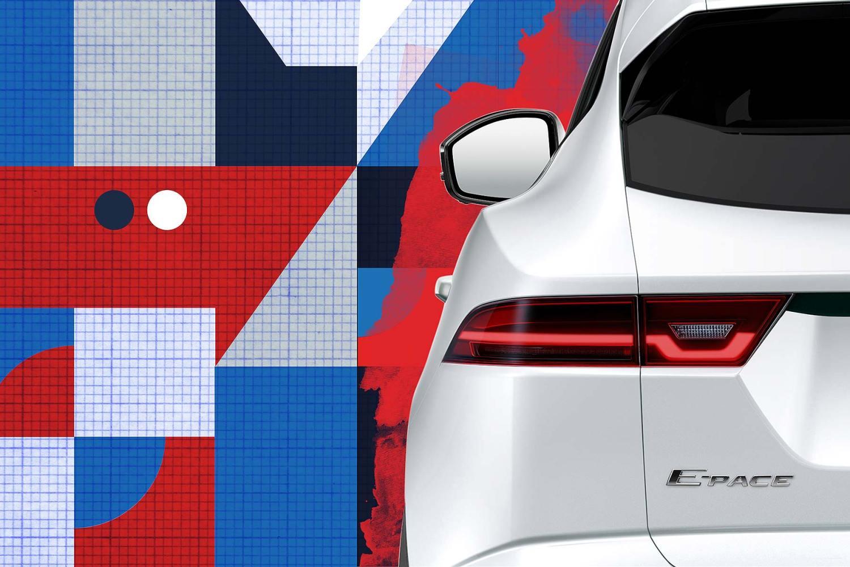 Jaguar E-Pace teaser