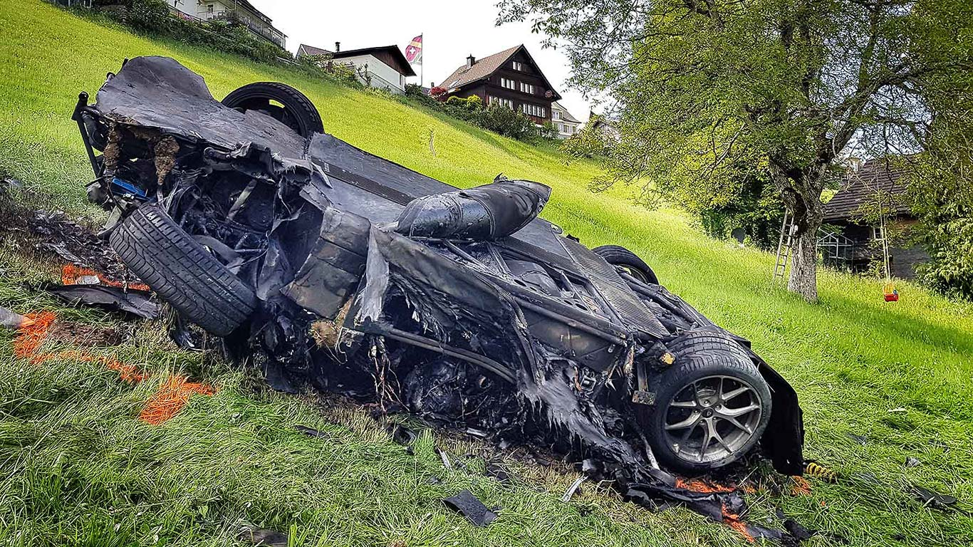 Richard Hammond Rimac crash