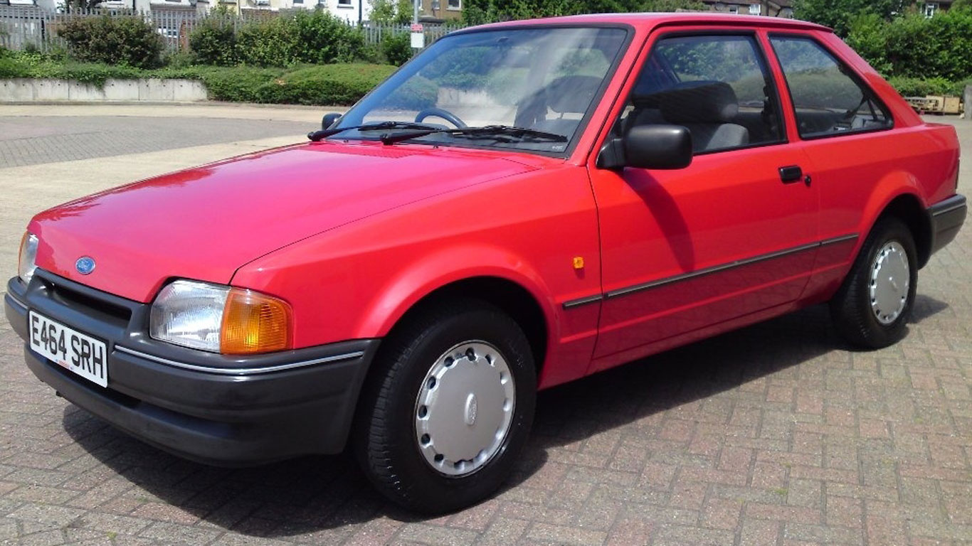 Ford Escort 1.4L: £11,500