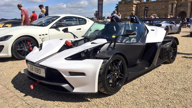 Cars at the Palace 2017