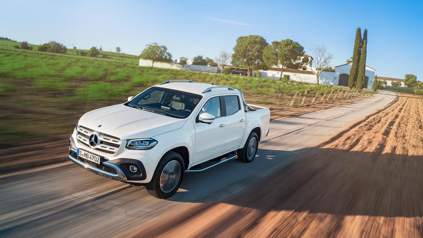 Posh Navara: Mercedes-Benz X-Class pick-up revealed