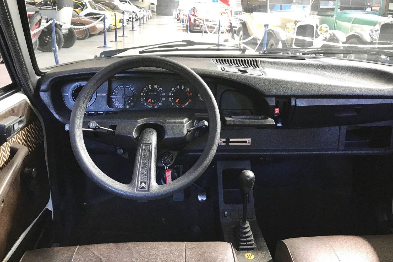 Citroen GS X3 cabin