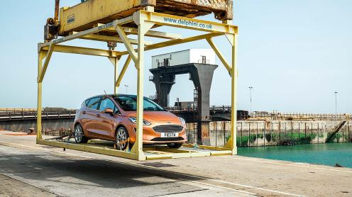 Ford Fiesta arrives in Britain