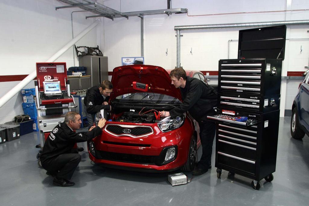 Kia Picanto car servicing