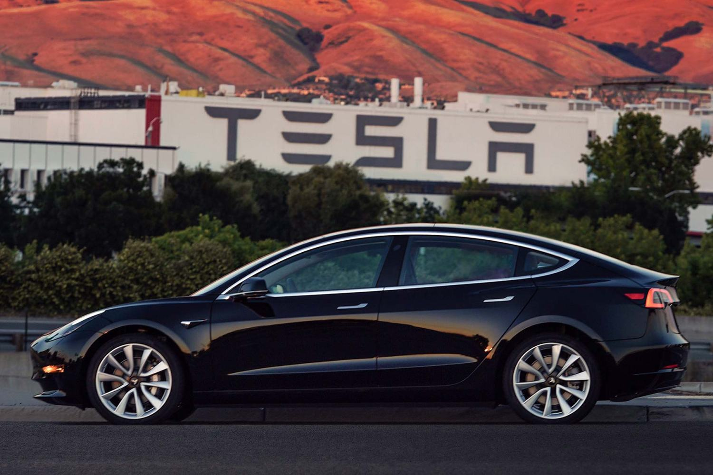 Tesla Model 3 1st production car