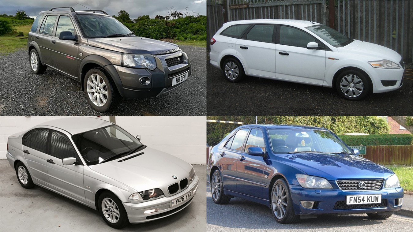 25 brilliant cars you can buy £1000 or less