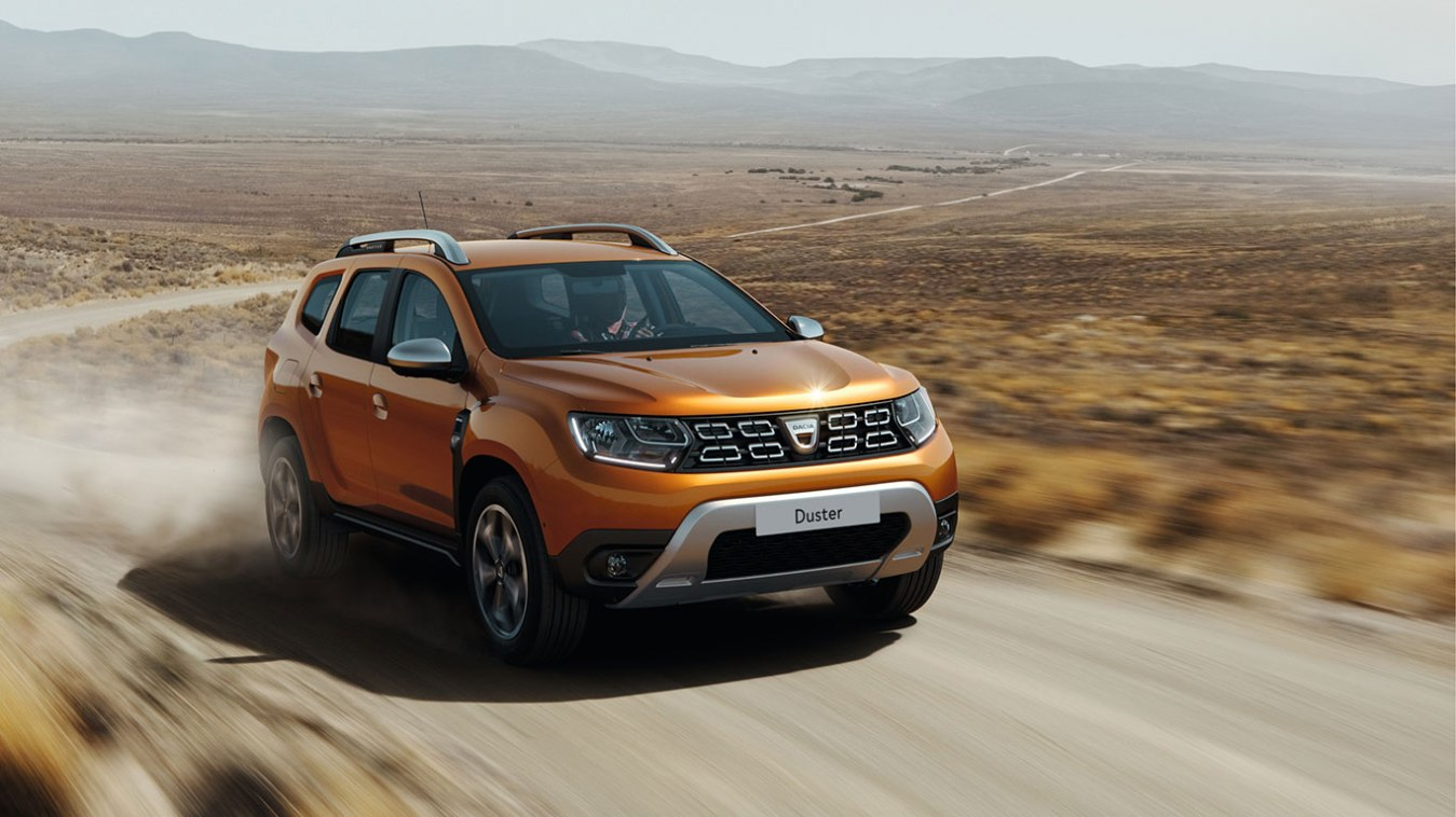 The new Dacia Duster looks a little different