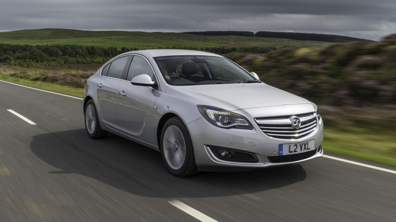 Midsize car, winner: Vauxhall Insignia