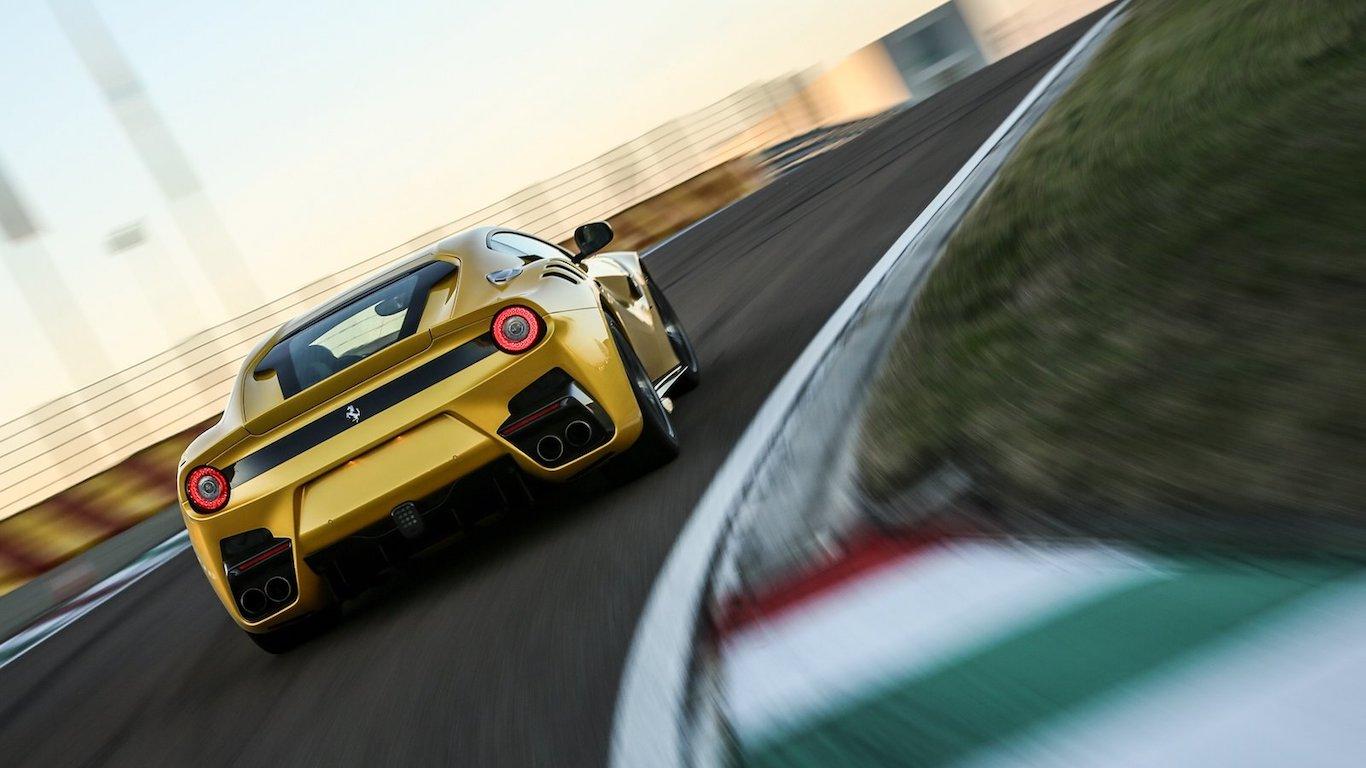 10. Ferrari - @ferrari - 4.1m