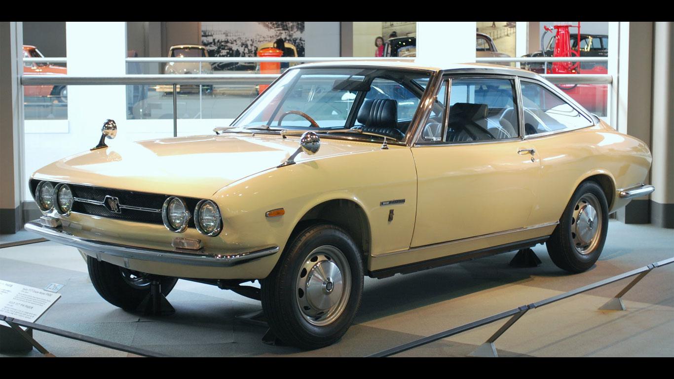 1968: Isuzu 117 Coupe