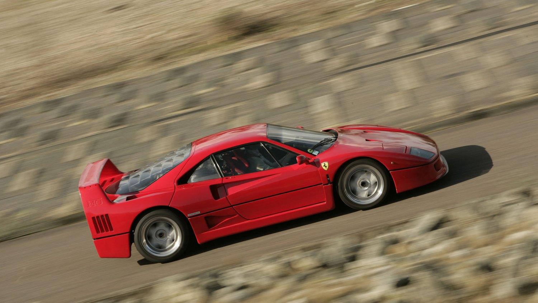 Ferrari F40: 3.9 seconds