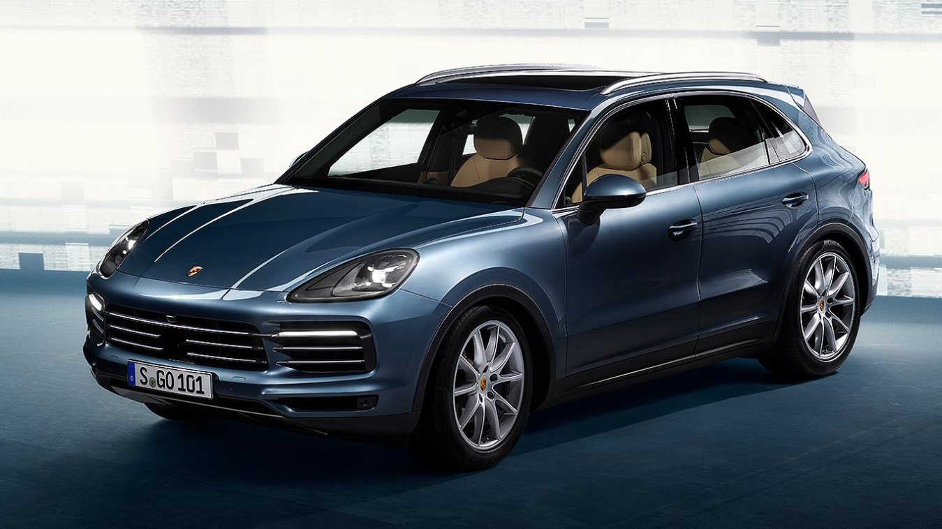 Porsche Cayenne Revealed More Like A Suv Than Ever