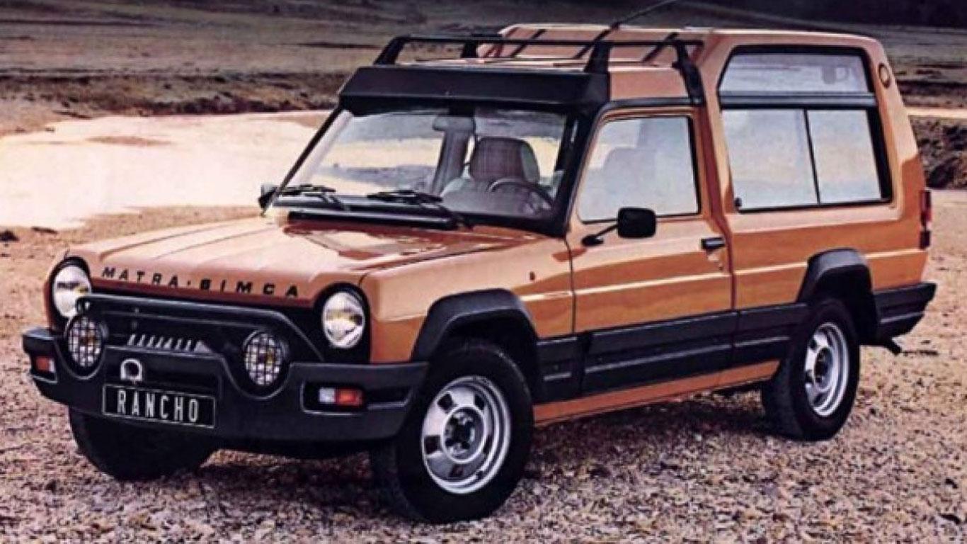 1977: Matra-Simca Rancho